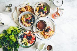 petit déjeuner avant le sport